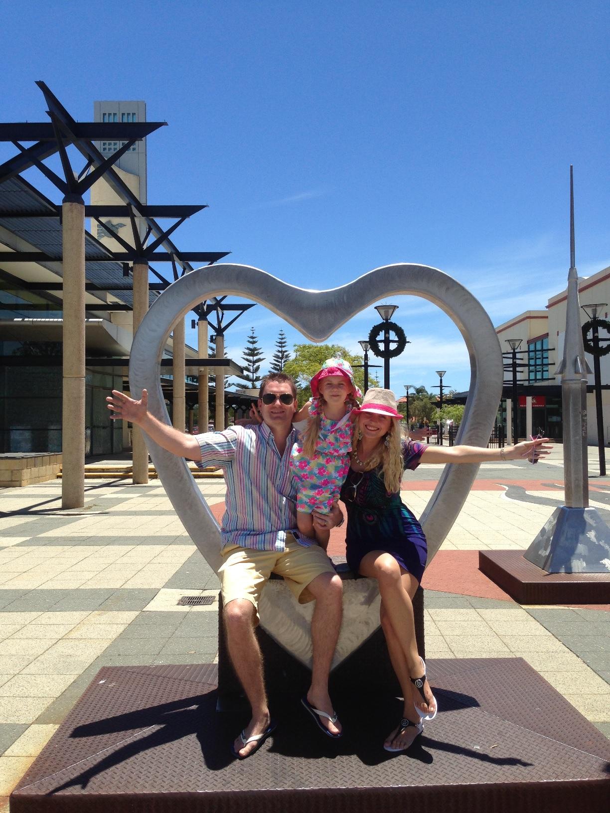 Simon and Karolina Youlton heading to Western Australia Perth